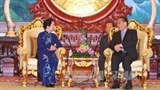 vietnam laos commit to boosting ties