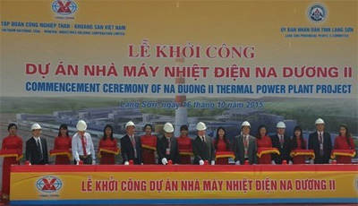 Work starts on 192-million-USD thermal power plant in Lang Son