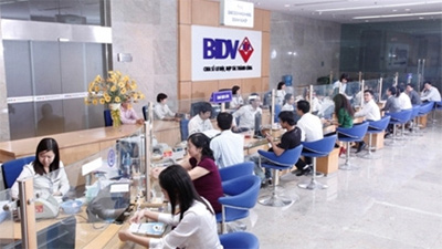 BIDV's Q3 pre-tax profit at over VND5.5 trillion