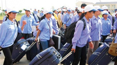 Nearly 100,000 workers sent abroad in last ten months