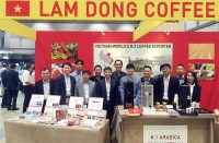 vietnams arabica coffee marketed at japan exhibition