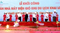 work starts on first wind power project in ca mau