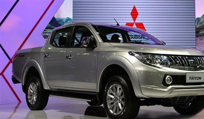 Mitsubishi Vietnam recalls Triton pick-up trucks