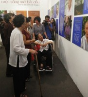 exhibit sheds light on elderlys life