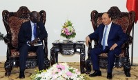 pm welcomes new wb country director in vietnam
