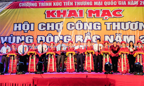 Industry and Trade Fair for Northeast Region opens in Tuyen Quang