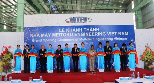 Japan's industrial machine factory inaugurated in Viet Nam