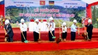 work starts on mountain economic complex in mu cang chai