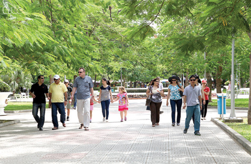 Tourism sector renewing image