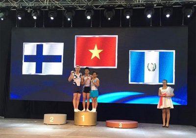 Vietnam strikes gold at World Challenge Cup