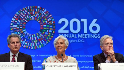 IMF, World Bank leaders call for inclusive globalization