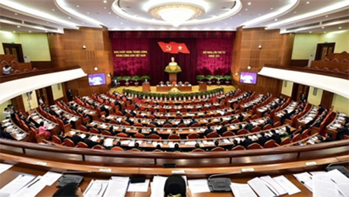 Party Central Committee debates int'l economic integration