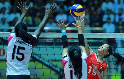 Chonburi win VTV Women's Volleyball Tournament