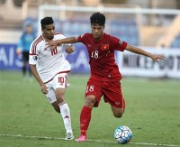 10 man viet nam tie uae in u19 champs