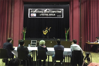 Vietnamese guitarist wins prize at Berlin competition