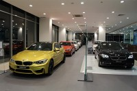 bmw launches the future retail program at the bmw showroom