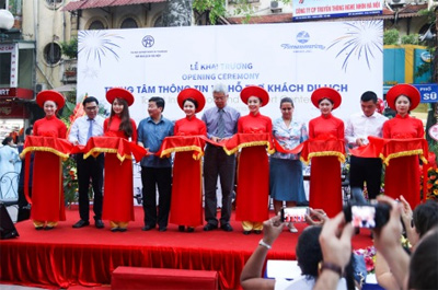 Hanoi tourism information center launched