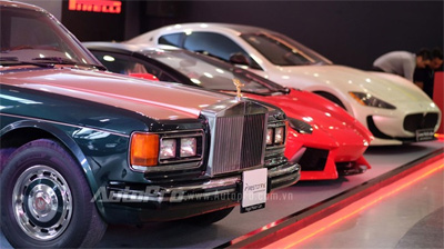 International motor show features 150 car models