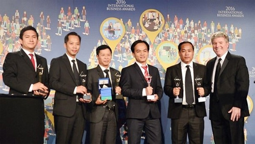 Viettel wins four trophies at International Business Awards