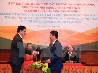 vietnam cambodia agree to boost trade ties