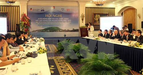 Vietnam, Germany co-operate in water sector