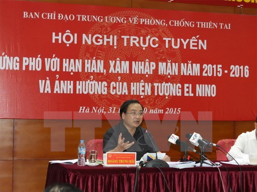 Deputy PM asked for greater effort to fight El Nino