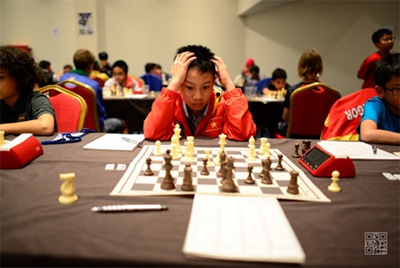 Hy wins eighth match at world chess championship