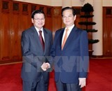 vietnam lao give further priority to economic links