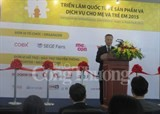 vietnam intl retail and franchise exhibition opens