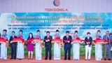 dong a steel jsc inaugurates us 150 million coated steel sheet factory in binh duong