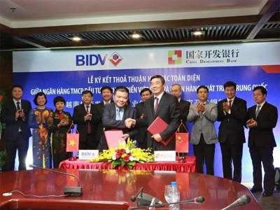 BIDV borrows 200 mln USD from China's development bank