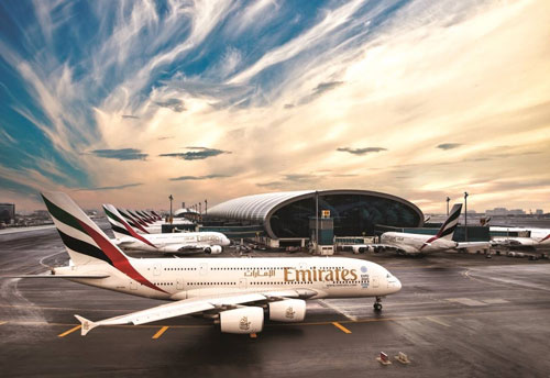 Emirates marked one of its best half-year profit performances ever
