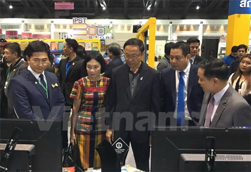 Vietnam attends Thailand's National Science and Technology Fair 2015