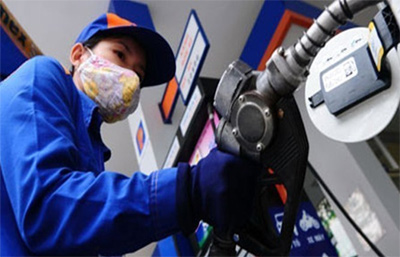 Domestic petrol prices down slightly