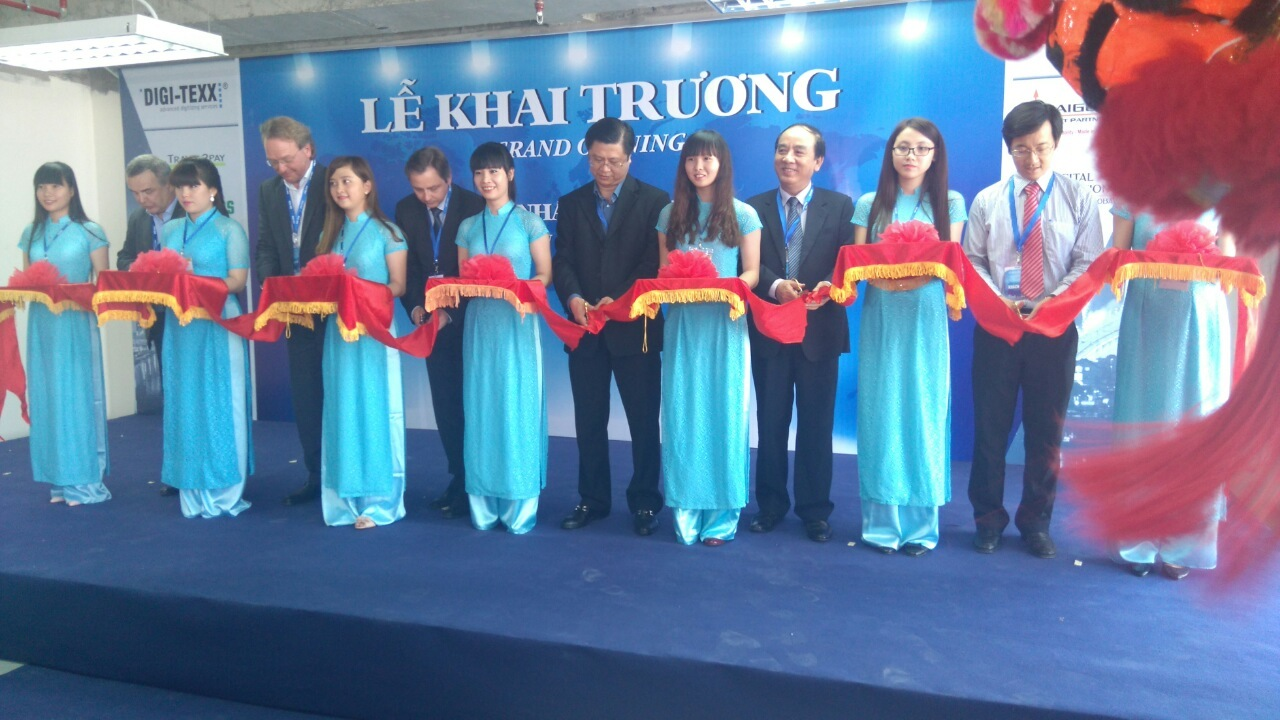 DIGI-TEXX Vietnam opens the first branch in Can Tho