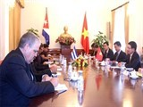 vietnam cuba sign sport cooperation agreement