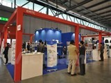 firms display products at worlds biggest motorcycle show