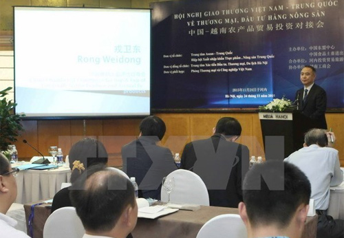 Vietnamese, Chinese farm produce traders meet in Hanoi