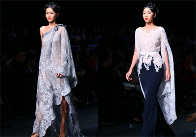 Alexis Mabille's 15-minute fashion show in Vietnam