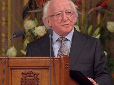 Irish President to pay State visit to Vietnam