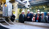 fdi invested drywall plant inaugurated in hai phong