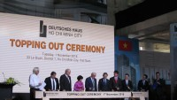deutsches haus ho chi minh city celebrates its official topping out ceremony