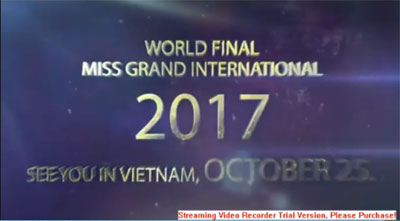 Miss Grand International 2017 to take place in Vietnam