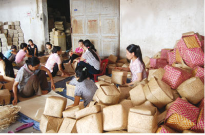 Ninh Binh supports rural industrial establishments