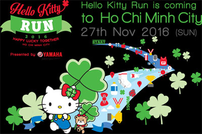Hello Kitty Run joins HCM City's growing race schedule