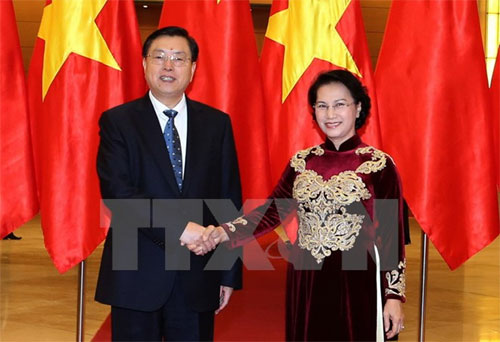 China's NPC chairman starts visit to Vietnam