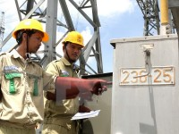 electricity resumed in disaster stricken provinces