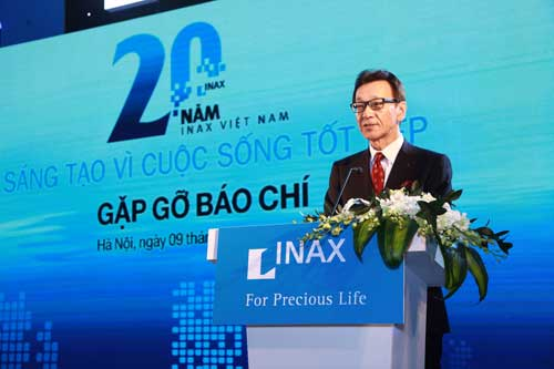 INAX - 20 years of innovation for a good living