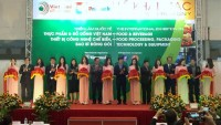 food and food processing fair opens in hanoi
