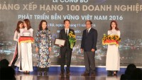 vietnam honors enterprises with corporate sustainability